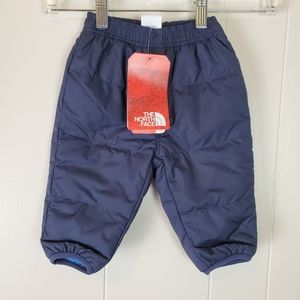 The North Face Baby Unisex Snow Pants Blue Lined